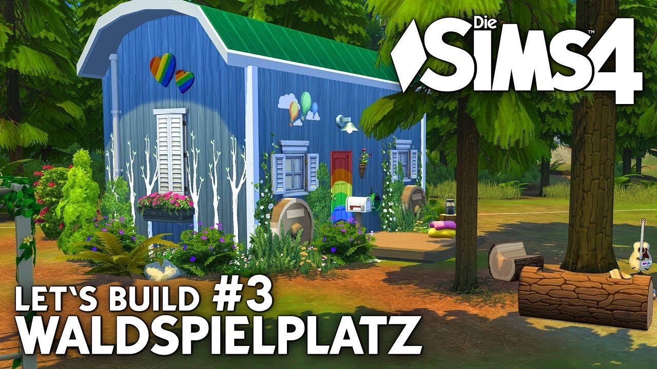 Wald spielplatz bauen die sims 4 let 39 s build 3 zum for Sims 4 dach bauen