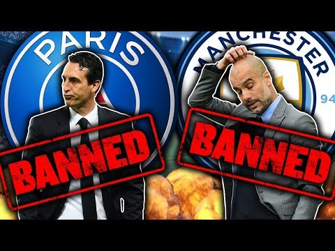 Could Manchester City & PSG Receive Transfer BANS?!   Transfer Talk