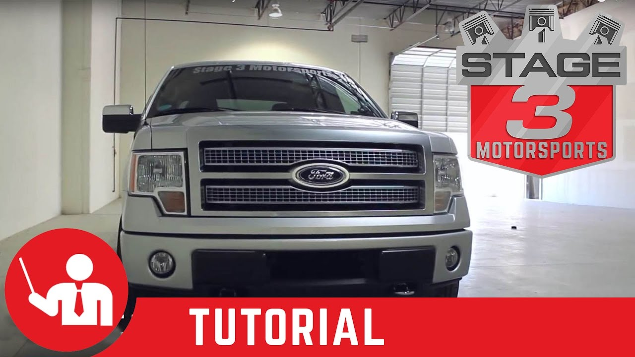 2011 F150 Grill >> 2009-2013 F-150 Platinum Grille Install on Our 2011 ...