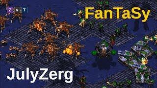 FanTaSy y JulyZerg, dos leyendas se enfrentan - Starcraft remastered