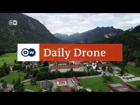 #DailyDrone: Kloster Ettal | DW Deutsch