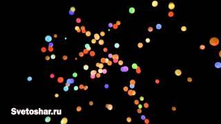 Запуск светящихся шаров на свадьбе 08.08.2015г.