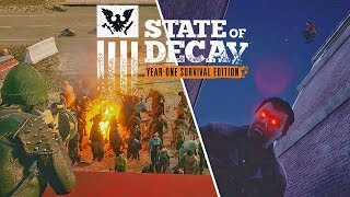 STATE OF DECAY 2 Final Gameplay Trailer Open World Zombie Game
