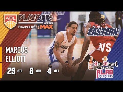 Marcus Elliott Scores 29 Points To Help Eastern Advance To Semis