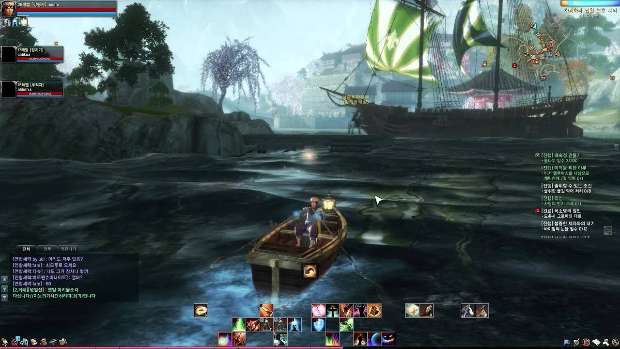 Видео ArcheAge CBT4 - Building my boat