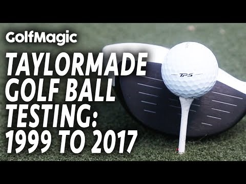 TaylorMade Golf Ball Testing: 1999 to 2017 | TP5 v TP5x review | Golf Ball Test 2017