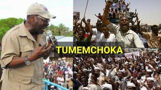 MBOWE AVAMIWA TENA LEO GAFLA NA WANANCHI WENYE HASIRA KALI MBELE YA POLISI!