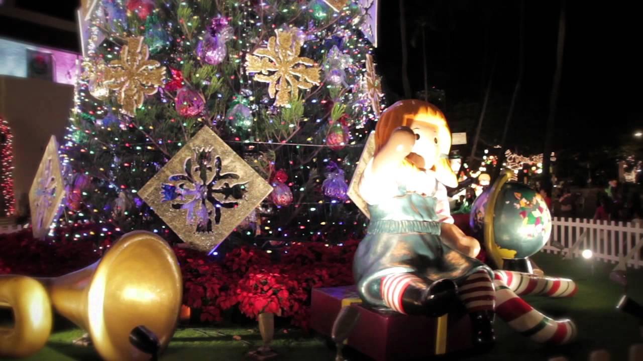 honolulu hale christmas city lights