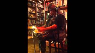 Bernadette Mayer reads at Spotty Dog in Hudson