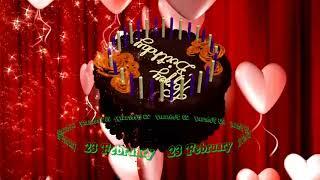 23 February Birthday Status