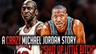One of michael jordan's craziest stories!