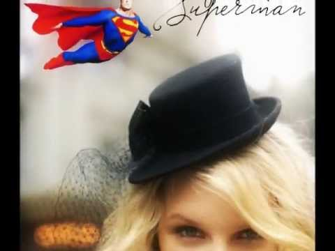 Superman Taylor Swift Lyrics With Song Youtube