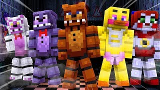 THERE IS A FREDDY APOCALYPSE COMING..Minecraft Apocalypse Challenge