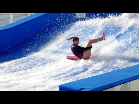 Flowrider on the Symphony of the Seas