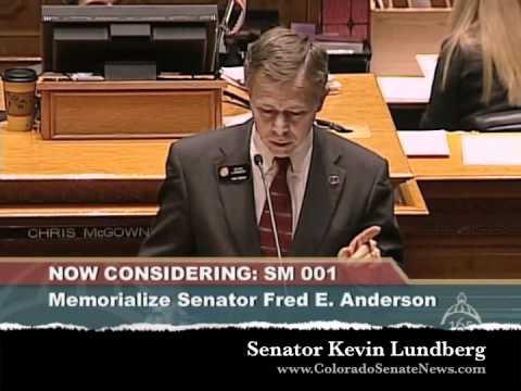 Memorialize Senator Fred Anderson Video     |     SM12-001
