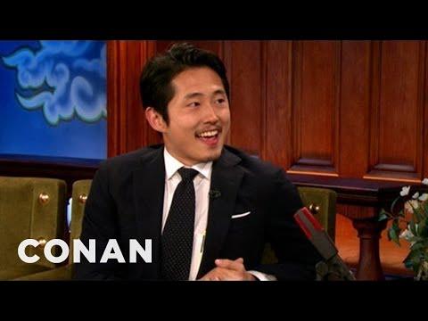 Steven Yeun Invites Conan To An Atlanta Strip Club - CONAN on ...