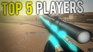 TOP 5 PLAYERS in PHANTOM FORCES... (roblox)
