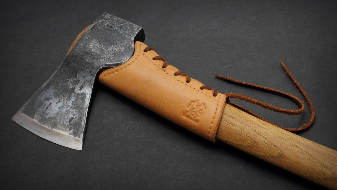 Leather Axe Handle Guard | ROG Handmade