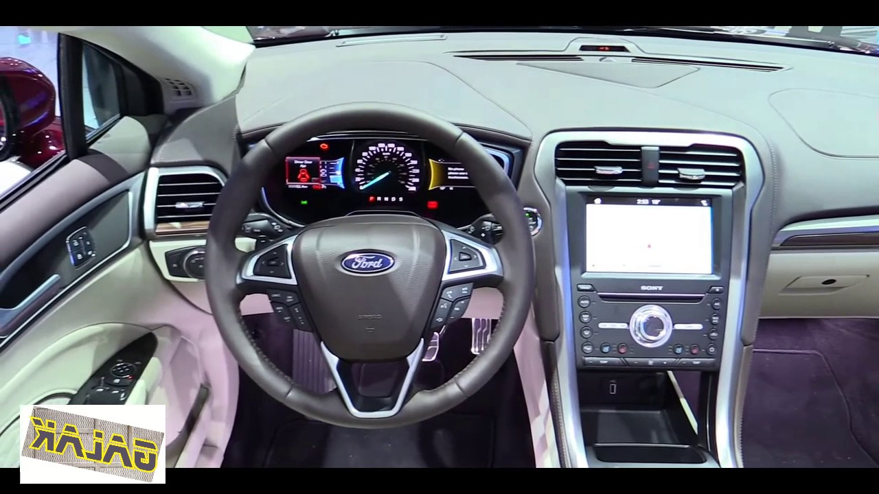 2018 Ford Fusion Platinum Interior