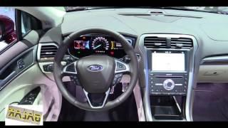 2018  Ford Fusion Platinum interior