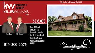 Lebanon OH House for Sale w/Finished Lower Level  790 Deer Run Trl, Lebanon, OH