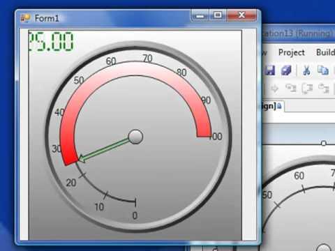 OPC Gauge NET: Radial & Liner Gauge Monitoring For  NET HMI Applications