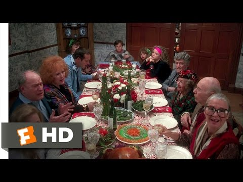 Christmas Vacation (8/10) Movie CLIP - Turkey Dinner (1989) HD