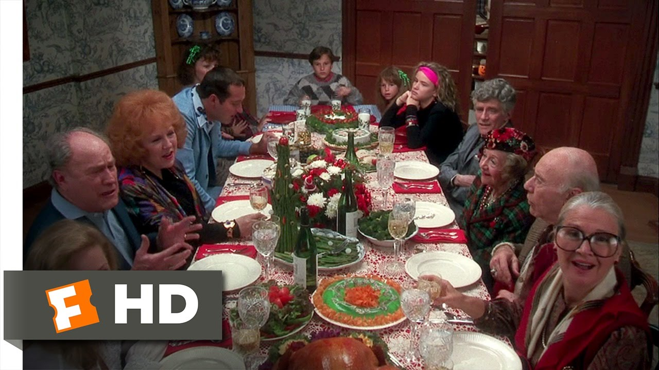 Christmas Vacation (8/10) Movie CLIP , Turkey Dinner (1989) HD
