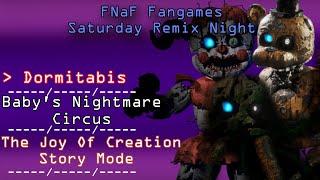 FNaF fangames's Saturday Night Sparta Remix