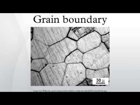 Grain boundary