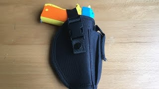 Backyard Blasters Quickdraw Tactical Pistol Holster Review