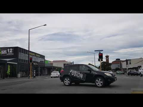 Driving in Invercargill