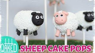 How to Make Sheep Cake Pops