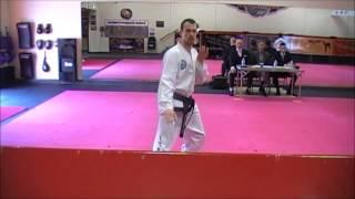 Taekwon-do 3rd Dan Black Belt Grading, under Gm Kim Bok Man