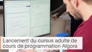 Lancement du cursus Algora de cours de programmation Python pour adultes