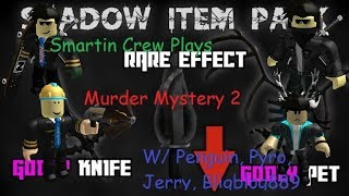 Roblox Murder Mystery 2! Part 12 VIP SERVER?! TRUST ISSUES! W/ Penguin, Pyro, Jerry, and Bligblog889