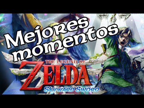 MEJORES MOMENTOS - ZELDA SKYWARD SWORD 6❤