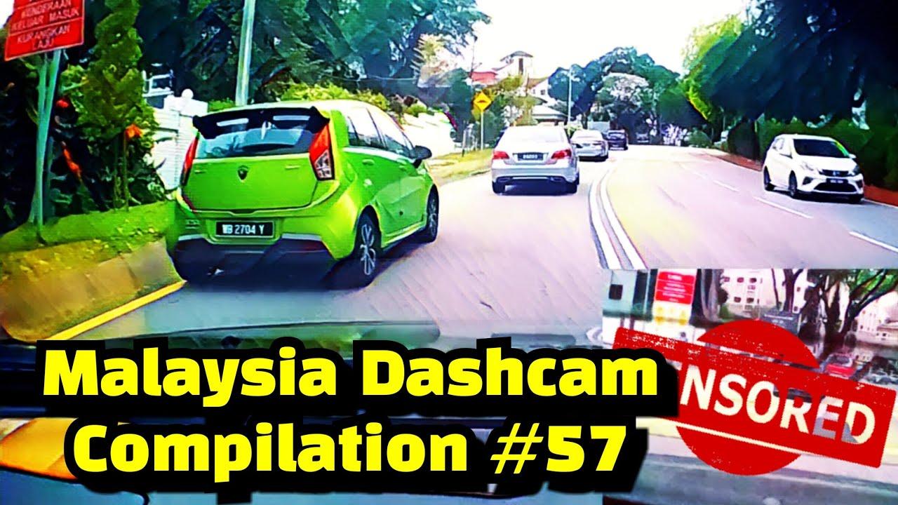 Malaysia Dashcam Compilation #57 | Proton Iriz