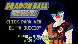 A JUICIO: Dragon Ball GT Final Bout | Review