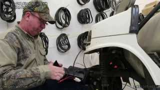 Yamaha G2, G9 Headlight Tail Light Kit | How to Install on Golf Cart