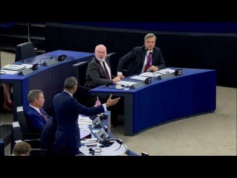 """Eklat um """"Nazi-Debatte"""" im Europäischen Parlament"""