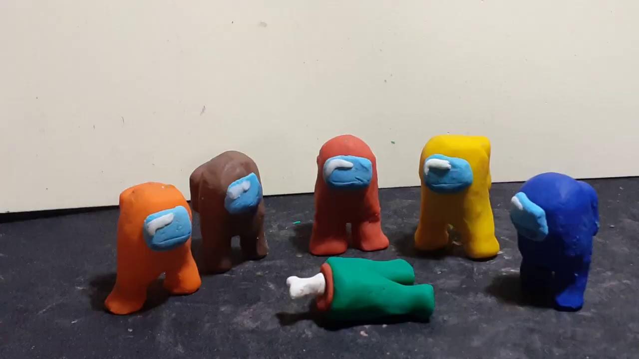 AMONG US clay animation