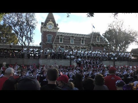 Ohio State University Marching Band - 2019 Rose Bowl Pep Rally - Disneyland