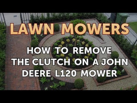 How to Remove the Clutch on a John Deere L120 Mower