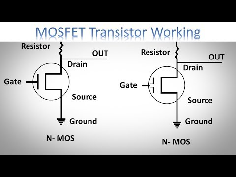 What is MOSFET with Working | MOSFET as a Switch by Earthbondhon