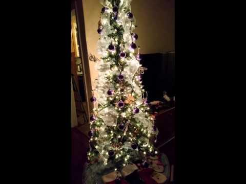 My revolving Christmas tree for 2014!