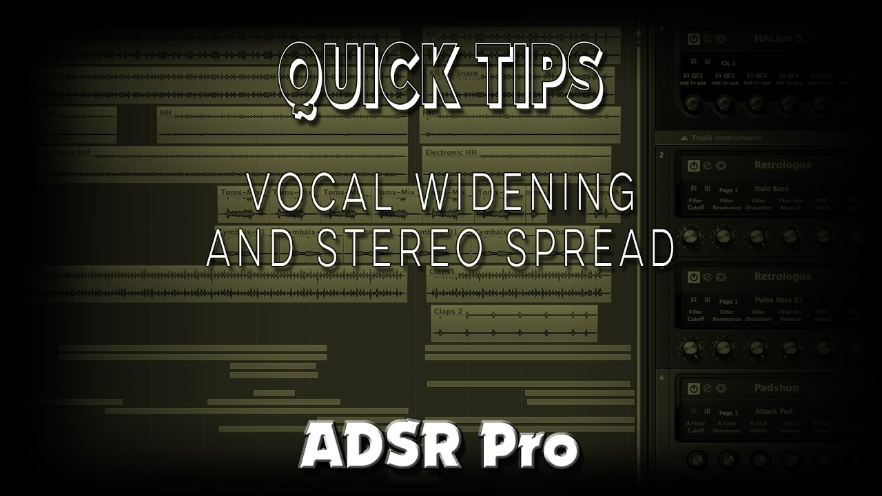 Quick Tips Vocal Widening and Stereo Spread in Cubase