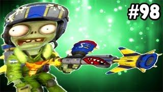 Plants vs. Zombies: Garden Warfare - Sky Trooper Gameplay