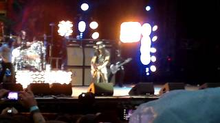 "SLASH - Rocket Queen (long solo) ""Download festival 2012"" Donington"