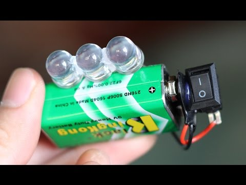 3 incredible  Life Hacks with a 9v Battery